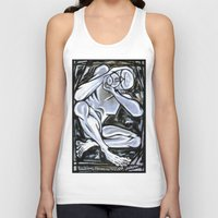 anxiety Tank Tops featuring 'Anxiety' by Jerry Kirk