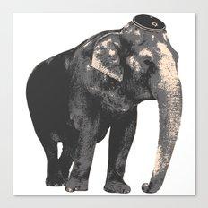 Elijah the Elephant Canvas Print