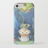 over the garden wall iPhone & iPod Cases featuring Over the Garden Wall by zaMp