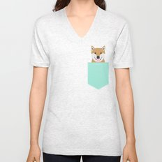 Cassidy - Shiba Inu gifts for dog lovers and cute Shiba Inu phone case for Shiba Inu owner gifts Unisex V-Neck