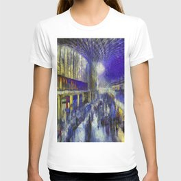 Kings Cross Station Van Gogh T-shirt