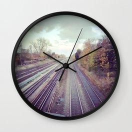 Mystery train. Wall Clock