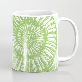 AMMONITE COLLECTION GREEN Coffee Mug