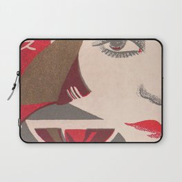 Flapper and Wine Laptop Sleeve