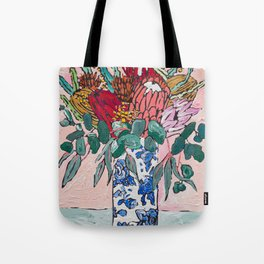 Australian Native Bouquet of Flowers after Matisse Tote Bag