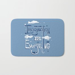 Imagination is Everything Bath Mat