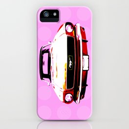 Pop Mustang iPhone Case