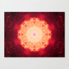 Fire Galaxy Canvas Print