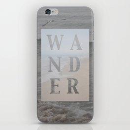 Wandering iPhone Skin