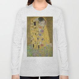The Kiss / Gustav Klimt Long Sleeve T-shirt