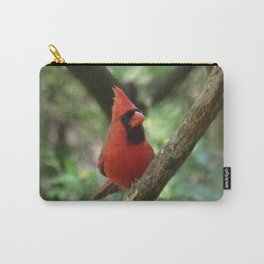 Northern Cardinal (male) Carry-All Pouch