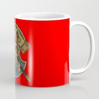 viking Mugs featuring Viking by Spooky Dooky