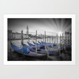 VENICE Idyllic Grand Canal Art Print