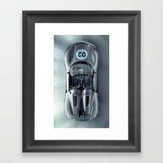 Super Car 02 Framed Art Print