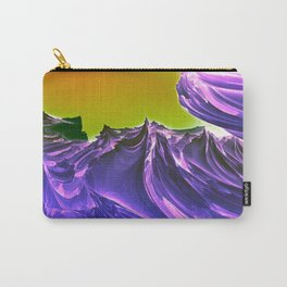 Purple Ocean Carry-All Pouch