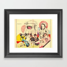 spacemen Framed Art Print