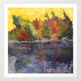 Pause and Reflect II Art Print