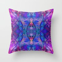 fairy tale Throw Pillows featuring fairy tale by Assiyam