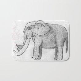 Elephant bubbles Bath Mat