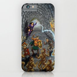 Tunnel of the Troglodytes iPhone Case
