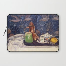 Camille Pissarro - Still Life with a Coffeepot Laptop Sleeve