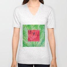 Fresh: Watermelon Unisex V-Neck