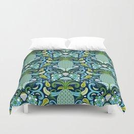 Ambrosia Blue Duvet Cover