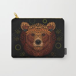 Bear Face Carry-All Pouch