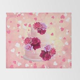 Pretty Cake Throw Blanket
