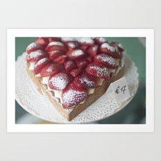 Sweetheart Pie Art Print