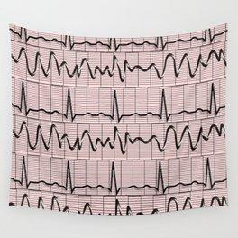 Cardiac Rhythm Strips EKG Wall Tapestry