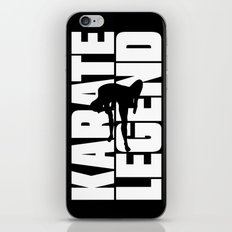 Karate Legend iPhone & iPod Skin