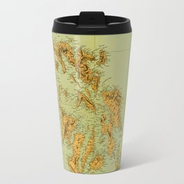 Map Of The Philippines 1898 Travel Mug