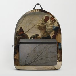 """Francisco Goya """"The Snowstorm or Winter"""" Backpack"""