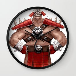mk9 game Wall Clock