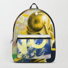 KYLIAN MBAPPÉ PSG football player, world cup champion, best young french football player star portra Backpack