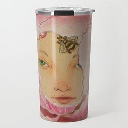 Bloom: Peony Travel Mug