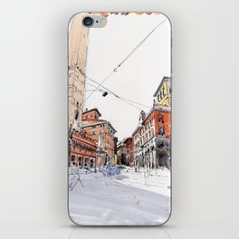 Bologna towers iPhone Skin