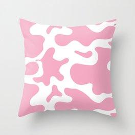 Strawberry Cow Throw Pillow