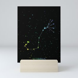 Scorpius Constellation 'The Scorpion' Mini Art Print