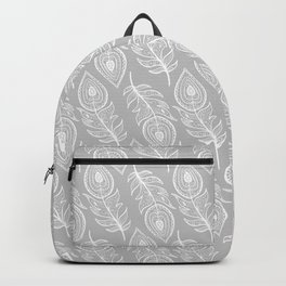 BOHEMIAN PEACOCK FEATHERS Backpack