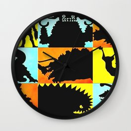 Ultraman Monsters Wall Clock