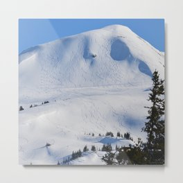 Back-Country Skiing  - III Metal Print