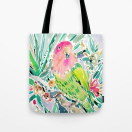 DUDE the Lovebird Tote Bag