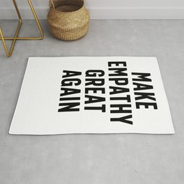 Make Empathy Great Again Rug