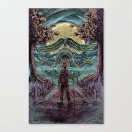 Secret Passage Canvas Print