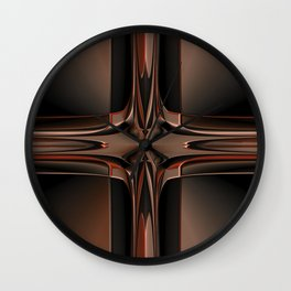 Abstract 350 Wall Clock