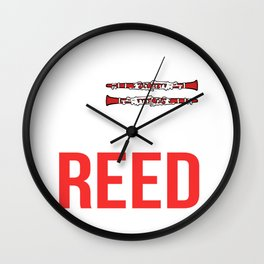 Was My Reed Musician Gift Wall Clock