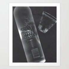 Vodka Visions Art Print