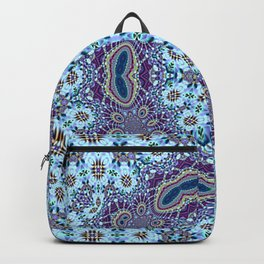 Modern Traditional Lacey Mandala Backpack